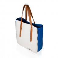 Soma SHOPPING BAG WHITE & BLUE